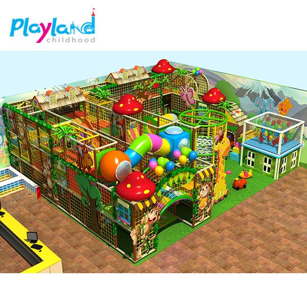 indoor playground maze